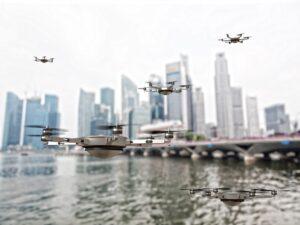 gruppo di droni