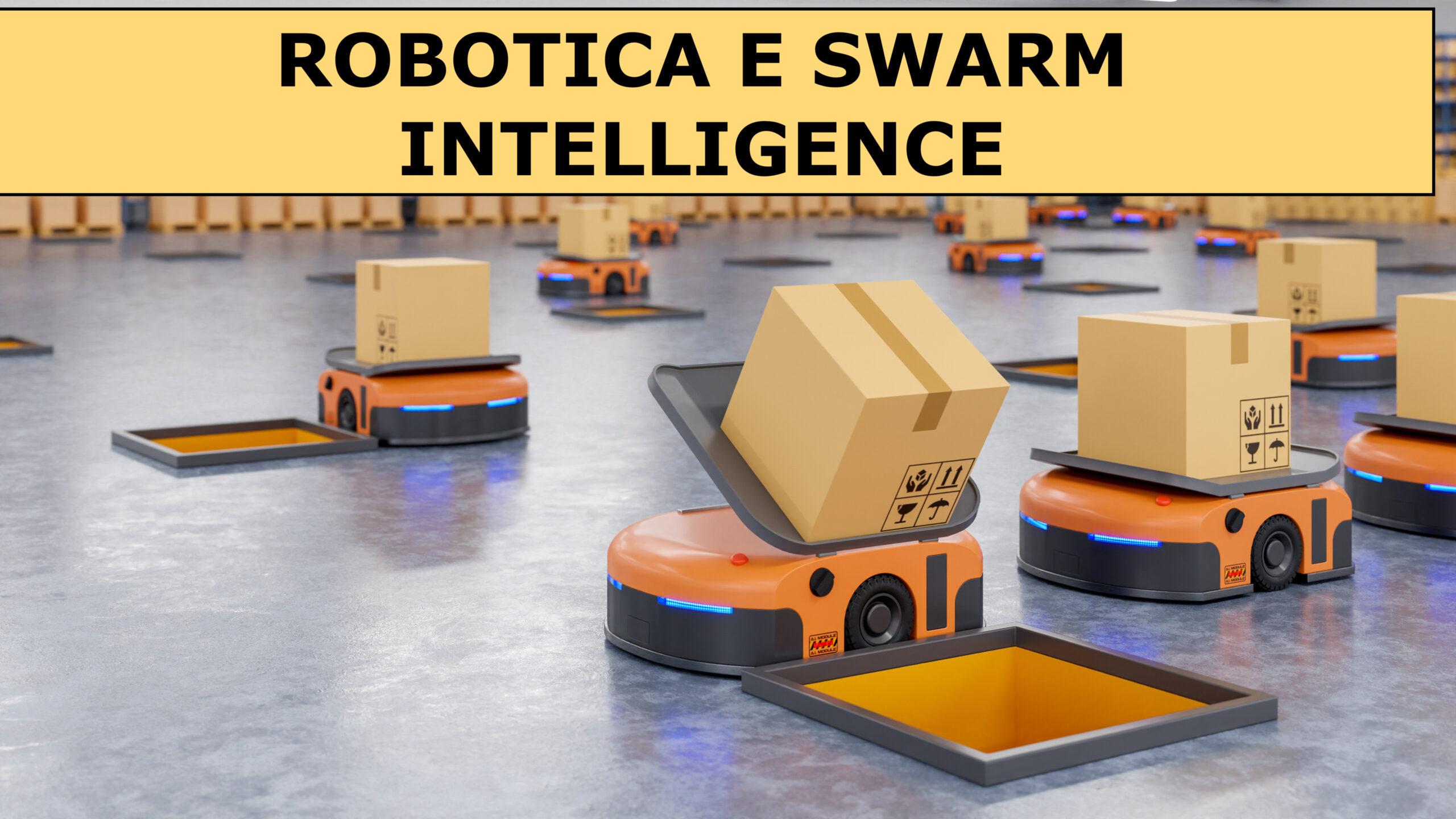 Un esercito di robot in magazzino che ordina in modo efficiente centinaia di pacchi all'ora