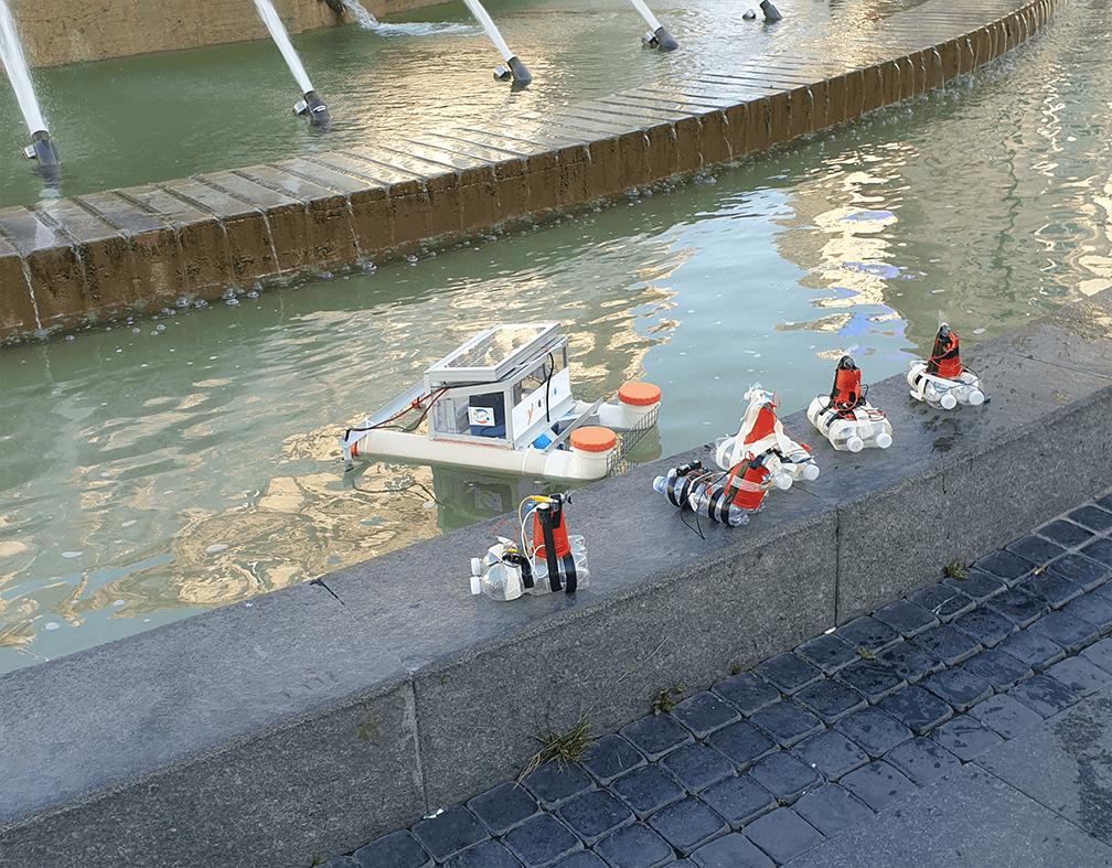 Robot autonomi per pulire gli oceani riutilizzando gli idrocarburi sversati nelle acque