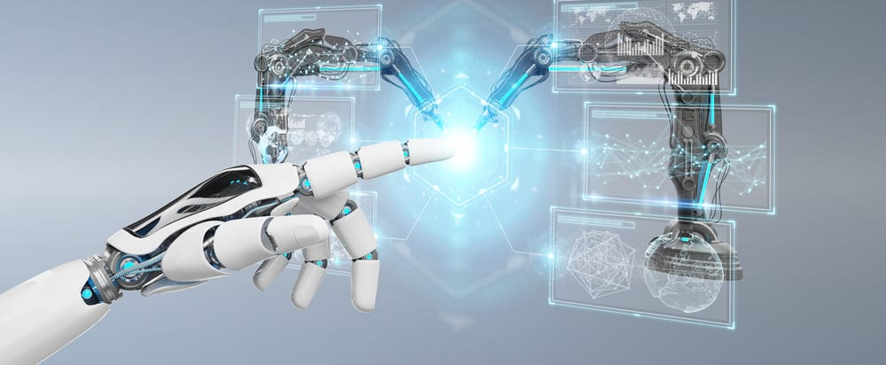 Intelligenza artificiale assistenza disabili e bracci robotici
