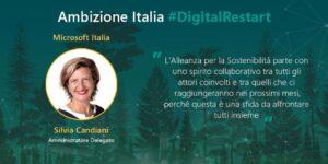 Alleanza per la sostenibilità - Silvia Candiani, AD di Microsoft