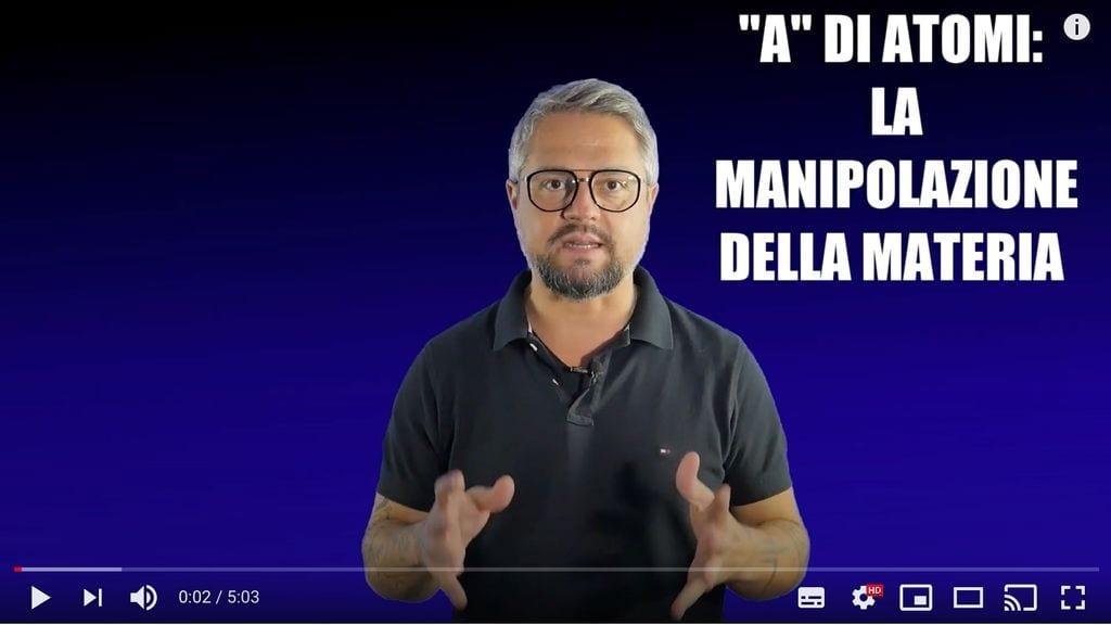 Rudy Bandiera BANG - A di Atomi - manipolazione della materia