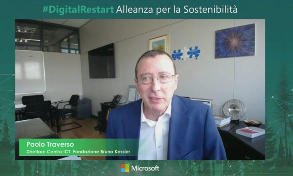 Paolo Traverso, Direttore centro ICT della Fondazione Bruno Kessler