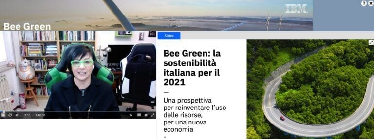 IBM Bee Green - sostenibilità italiana