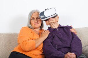 Deficit cognitivo - la realtà virtuale per gli anziani