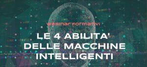 Macchine intelligenti - webinar formativi