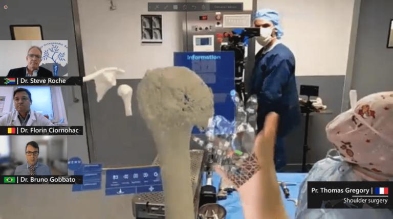 Medicina di precisione - realtà mista e uso HoloLens Microsoft