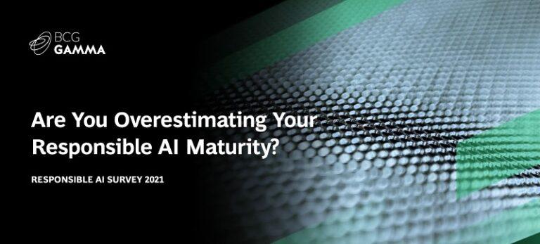 Intelligenza artificiale responsabile - survey 2021 - BCG Gamma