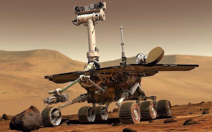 robotica per le missioni spaziali