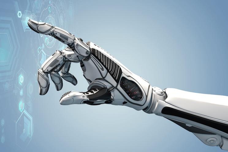 Intelligenza artificiale per la mano robotica