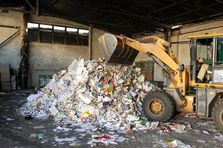 machine learning e gestione rifiuti urbani