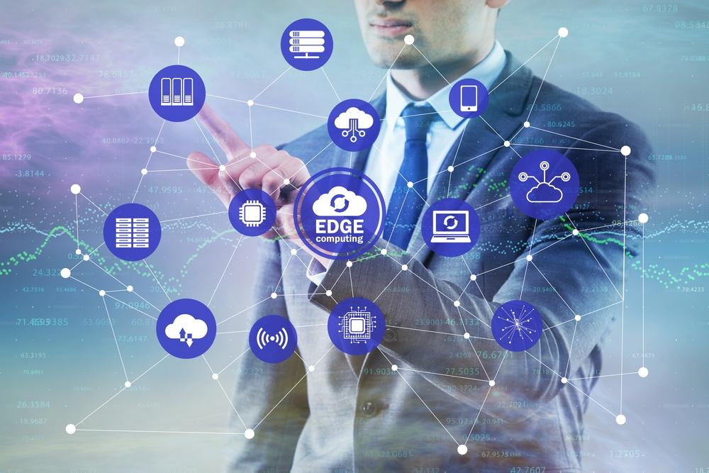 Edge computing concept