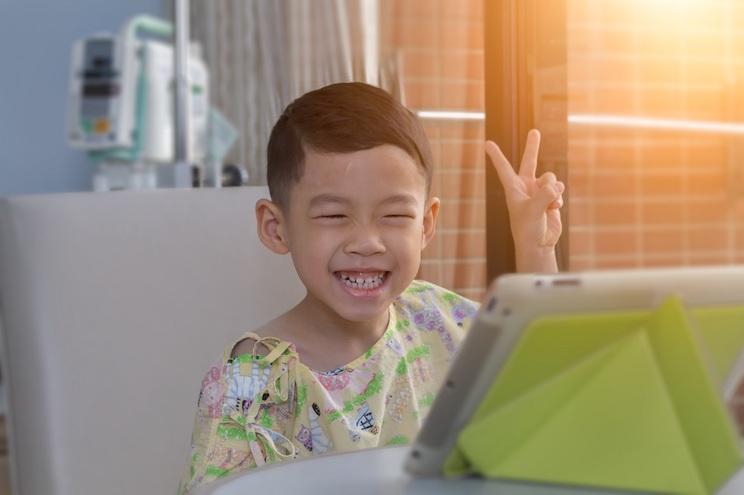 la tecnologia incontra i bambini in ospedale