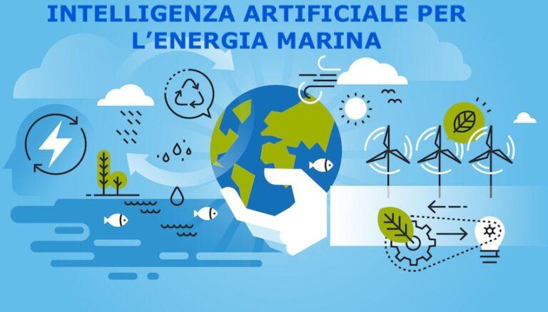 intelligenza artificiale per l'energia marina