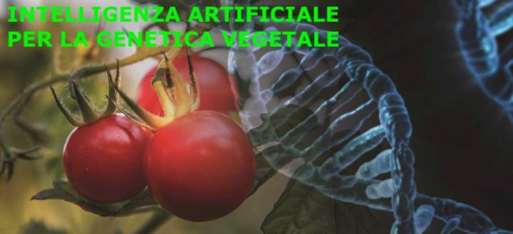 intelligenza artificiale per la genetica vegetale